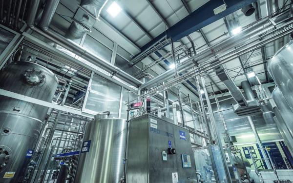 Modernizacja oświetlenia w zakładach przemysłowych