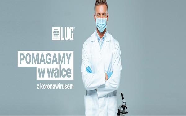LUG kupuje i sprowadza do Polski 50 ton sprzętu ochrony osobistej