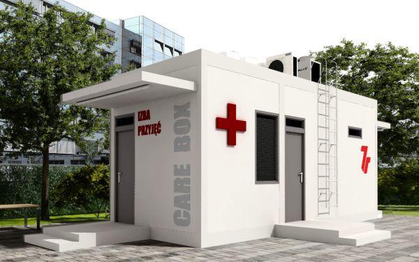 Mobilne izby przyjęć dla szpitali